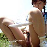 【木綿の女児パンツやスカートまで濡らすほどおしっこを漏らすJS】水城まや おもらしまや公園で遊ぶ